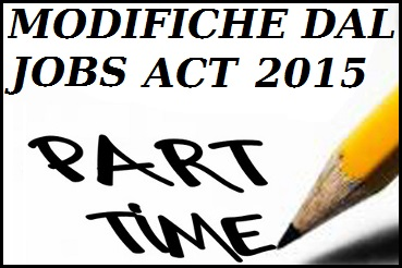 Jobs Act - Part Time